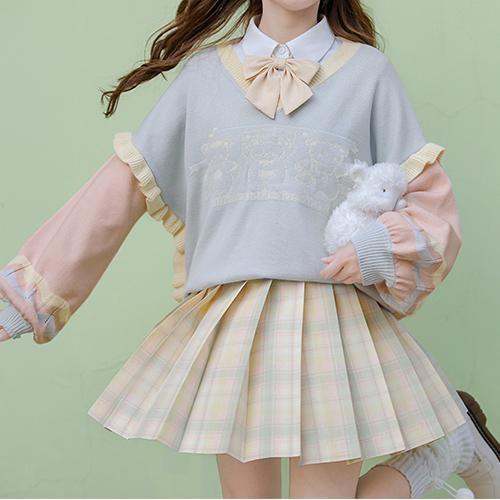 Harajuku Fashion, Kawaii Fashion, Cute Fashion, Fashion Outfits, Kawaii Shirts, Kawaii Clothes, Cosplay Outfits, Skirt Outfits, Looks Kawaii