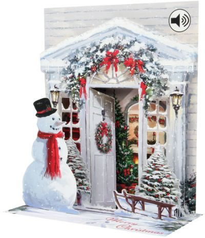 Up With Paper :: SS042 Holiday Door
