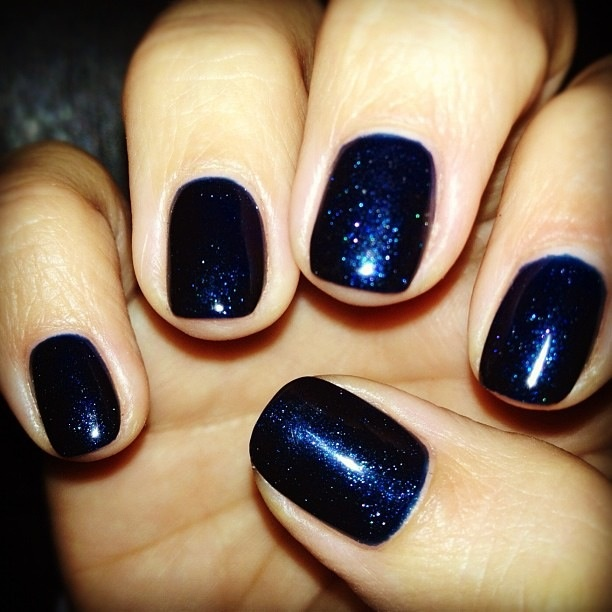 Cnd Vinylux Midnight Swim Week Long Wear Free Shipping At Nail