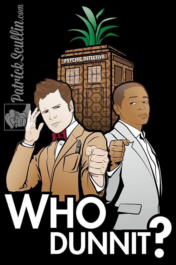 OMG PYSCH AND DOCTOR WHO BEST DAY EVERRRRRRRRRR
