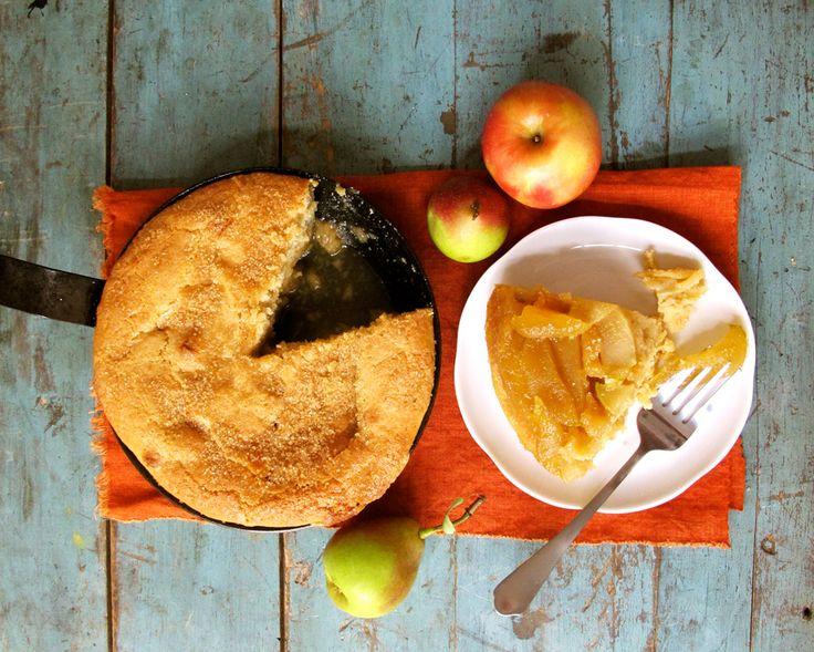 Upside Down Apple cake ala Relish