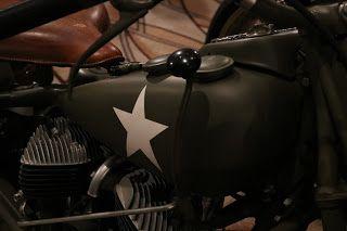 OldMotoDude: 1940 Indian Chief Model 340B Military Bike sold for $42,550 2017 Bonhams Las Vegas Motorcycle Auction