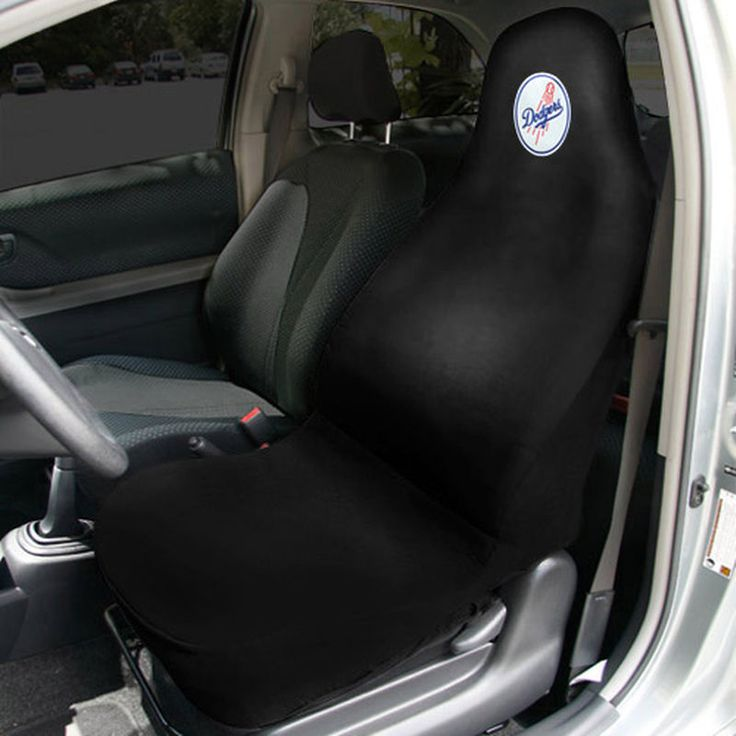 Los Angeles Dodgers Car Seat Cover - Black