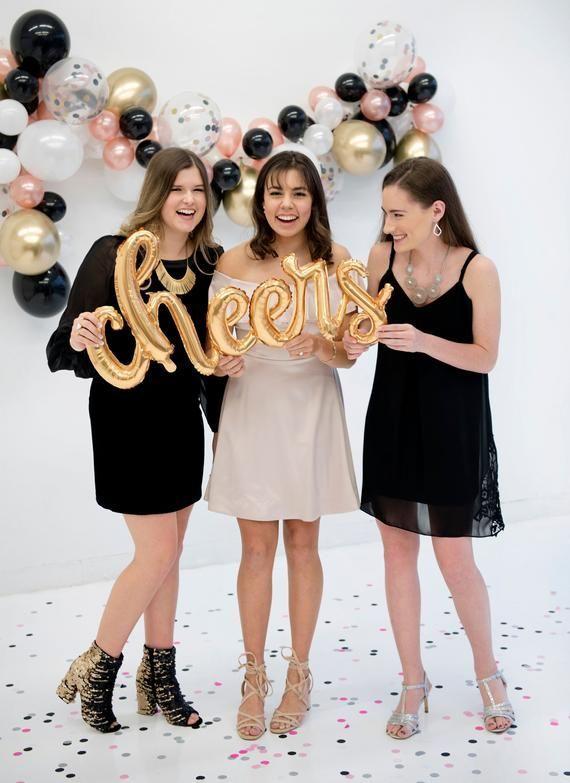 Graduation Party Decor – Graduation Balloon – Cheers Balloon – Grad Party Supplies – College Graduation – High School Graduation Decor
