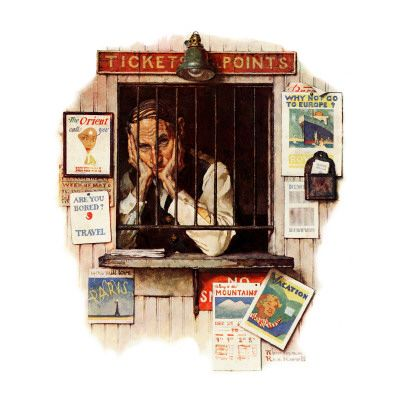 Norman Rockwell Art Poster at AllPosters.com