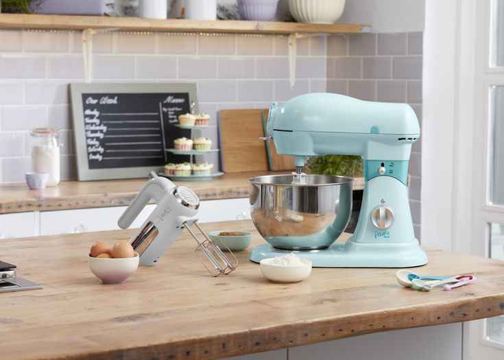 Fearne by swan 6l stand mixer blue mixer stand mixer