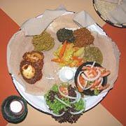"""Afrikanisches Restaurant Schwabing """"Blue Nile"""" Die nördlichste Stadt Äthiopiens"""
