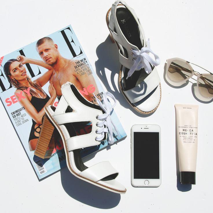 Essentials feat. CALIGULA. #jomercershoes #flatlay #shopnow