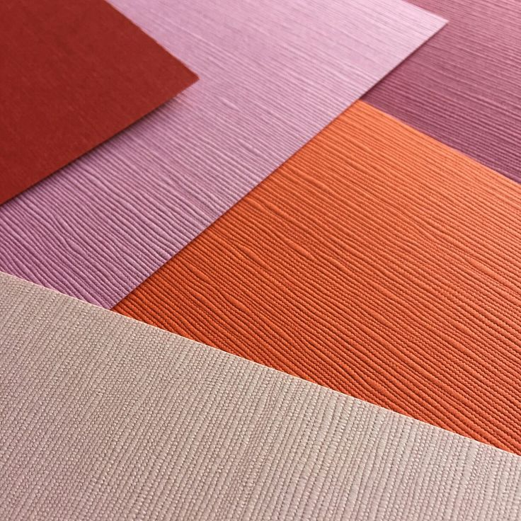 Linen textured papers - reminiscent of Autumn 🍂🍁