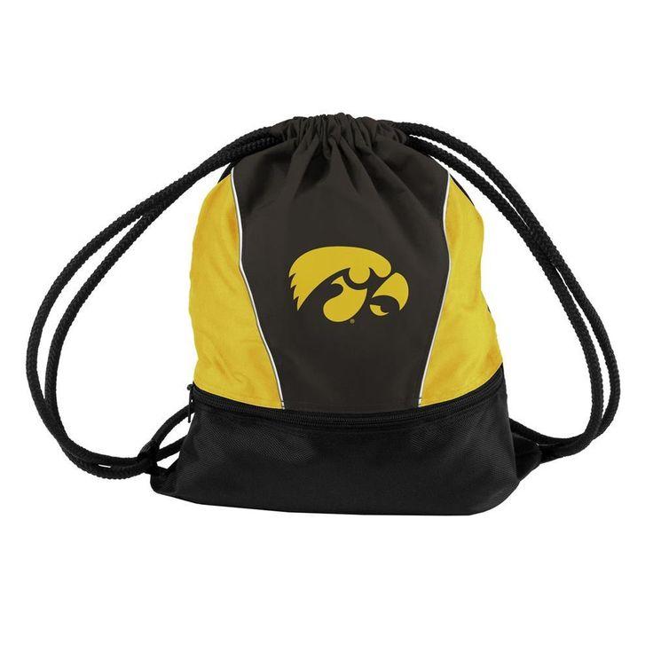 OneStopFanShop - University of Iowa Hawkeyes Bag String Sprint Backsack, $32.95 (https://www.onestopfanshop.com/college/iowa-hawkeyes/university-of-iowa-hawkeyes-bag-string-sprint-backsack/)