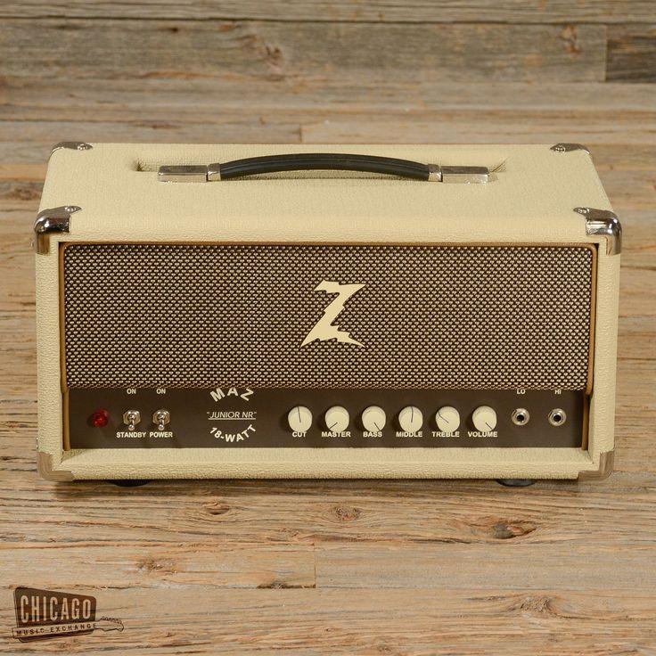 Dr. Z Maz 18 Jr Blonde Tube Amp Head 2006 (s336)
