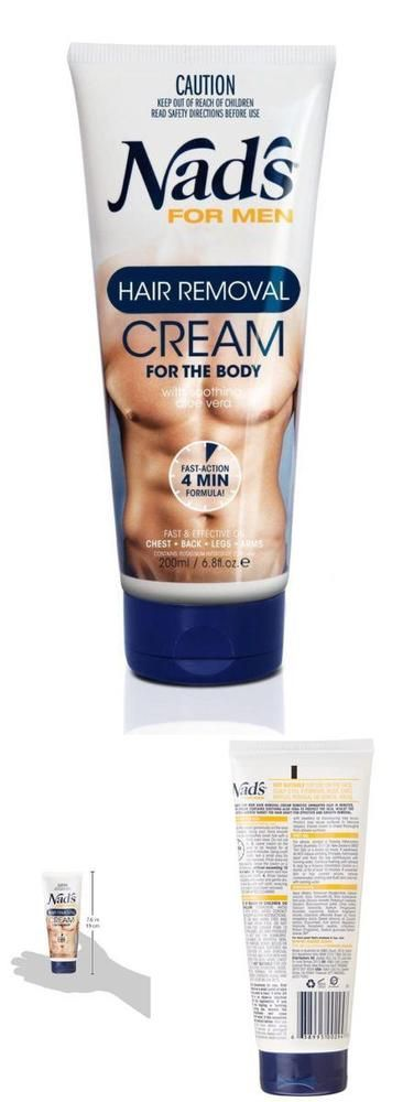 Formulated with aloe Vera to help sooth  For Men Hair Removal Cream #NadsForMen