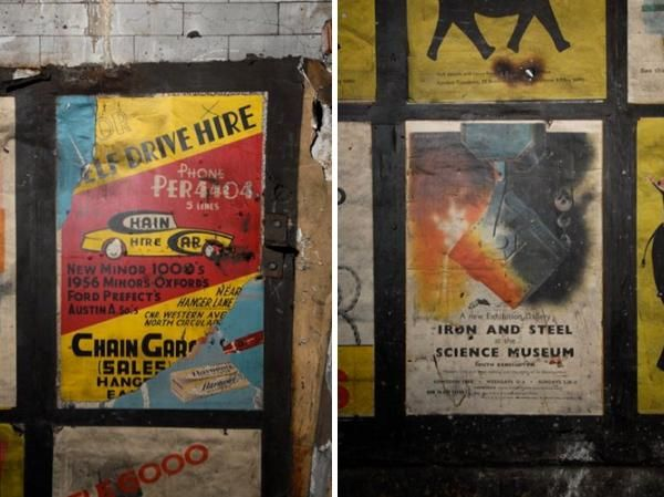 vintage posters notting hill gate
