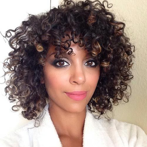 Medium Hairstyles For Naturally Curly Hair Hair