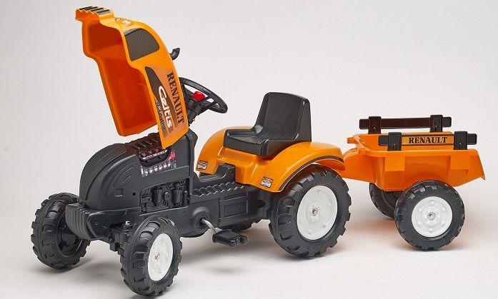 TRACTOR DE PEDALES RENAULT + REMOLQUE, IndalChess.com Tienda de juguetes online y juegos de jardin