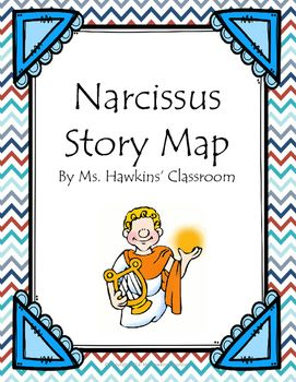 Narcissus Myth Story Map