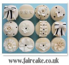 Ivory cupcakes
