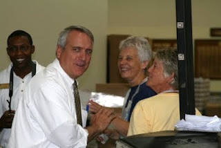 An action packed Monday at FBR with Gov. Bill Ritter.