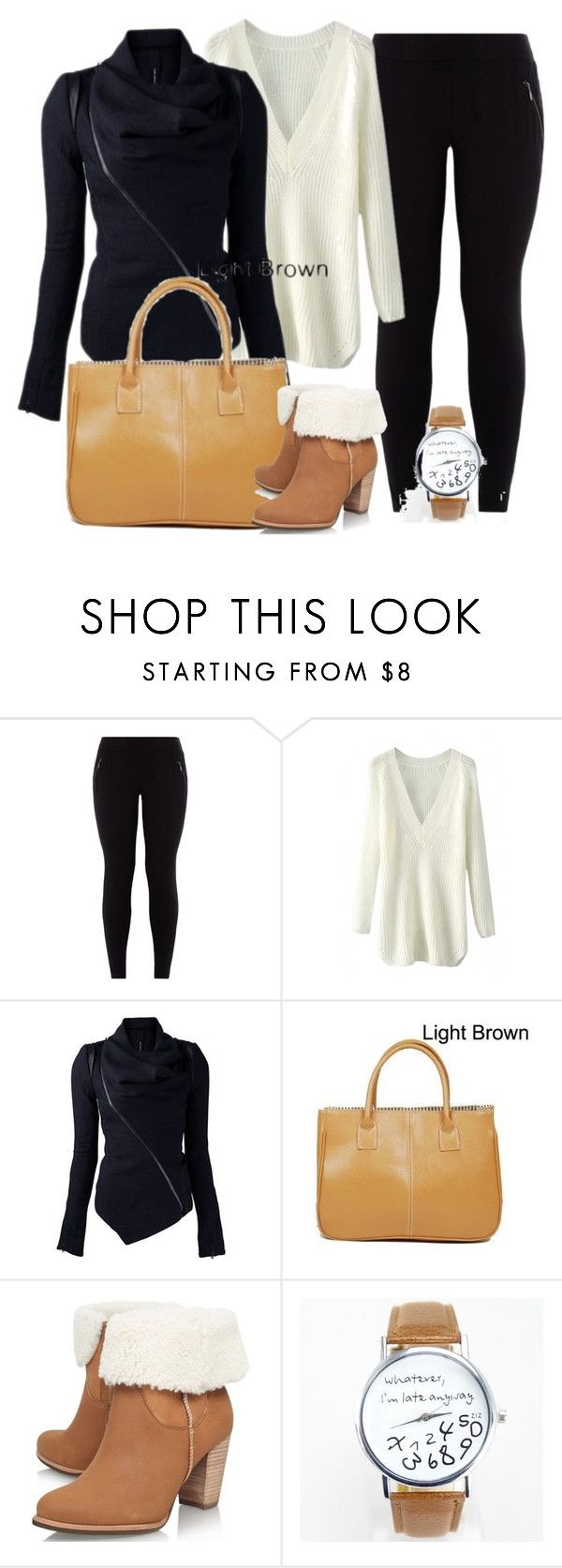 """""""Fall Party Outfit 2015"""" by myfriendshop ❤ liked on Polyvore featuring New Look and UGG Australia"""