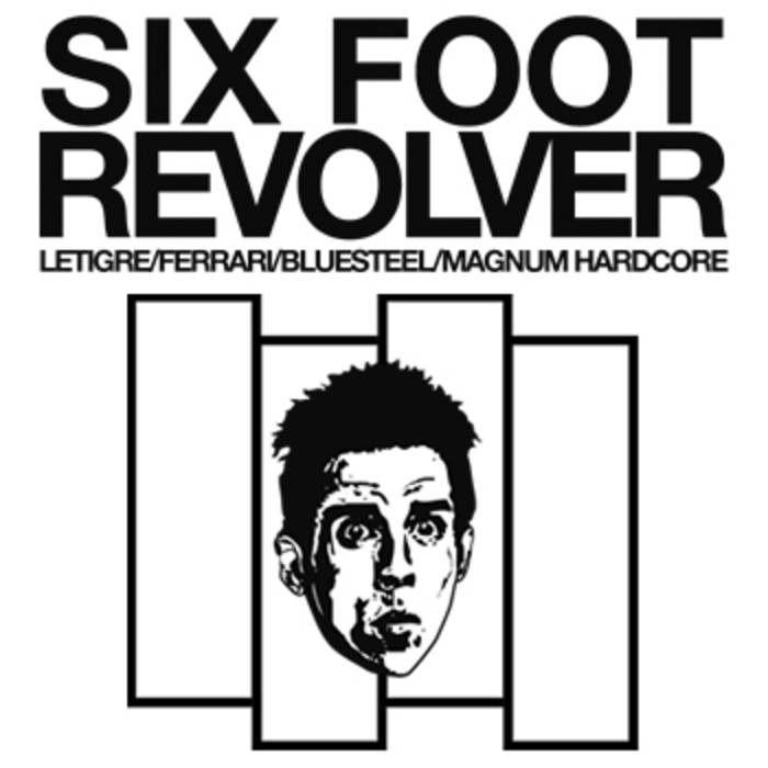 Six Foot Revolver  The Chosen One Print #blackflag #benstiller #cycomind