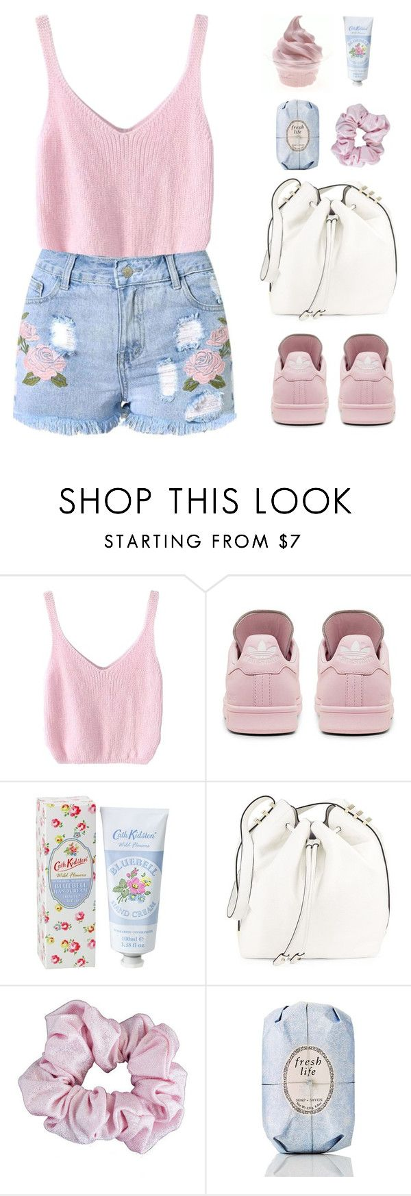 """""""The Final Cut"""" by sweetpastelady ❤ liked on Polyvore featuring adidas, Cath Kidston, Luana, American Apparel and Fresh"""