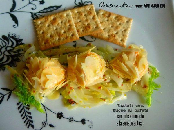 tartufi di carote wi green