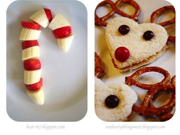 Comida de Navidad para niños  Christmas food for kids