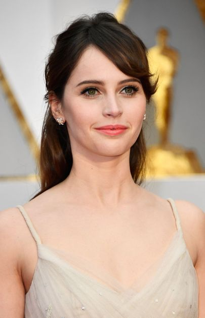 Felicity Jones | Oscars 2017: Hair And Makeup On The Red Carpet | British Vogue