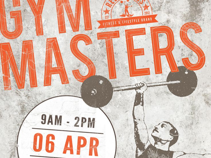 Gym Masters Poster - by Shane Rielly