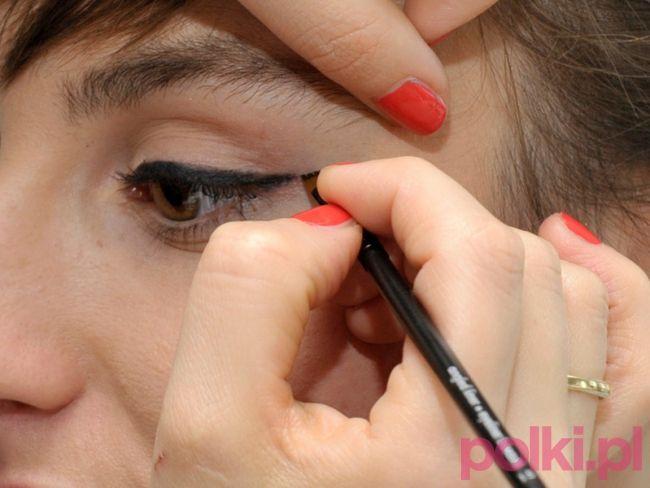 malowanie kreski na oku, Weronika Macioł