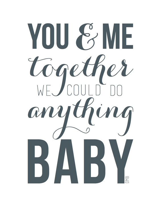 Dave Matthews Band  You and Me Lyrics by NoraWallCreative on Etsy