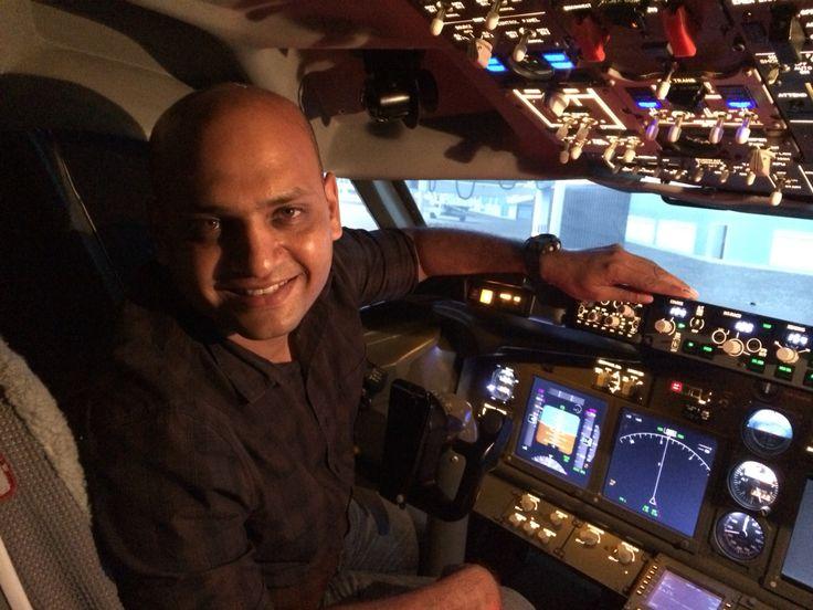 Flying B737-800 NG