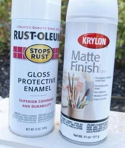 Spray Paint FAQs: how to spray paint plastic, metal, fiberglass, mirror, glass, wood, wicker, masonry, plaster, concrete, canvas, ceramics, MDF, laminate, particle board. Links to posts on pros and cons of spray paint, beginner tips and painting technique, and more.