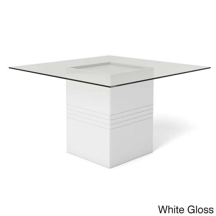 Glossy White Contemporary Clear Temper Glass Sleek Modern: Best 25+ Glass Top Dining Table Ideas On Pinterest