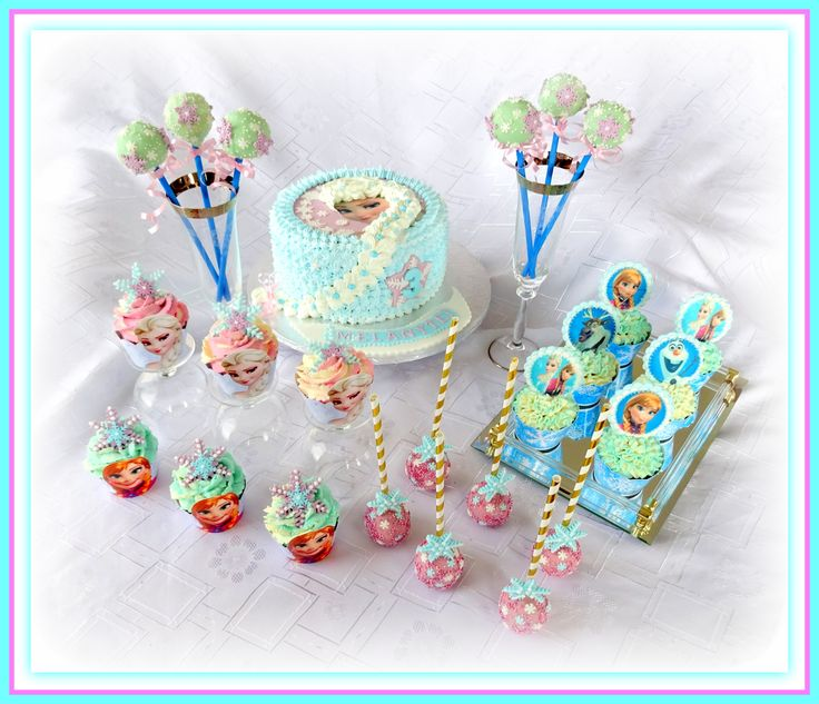 Frozen theme delights