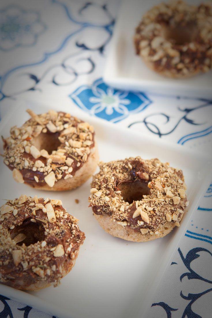 Chocolate Dukkah Doughnuts