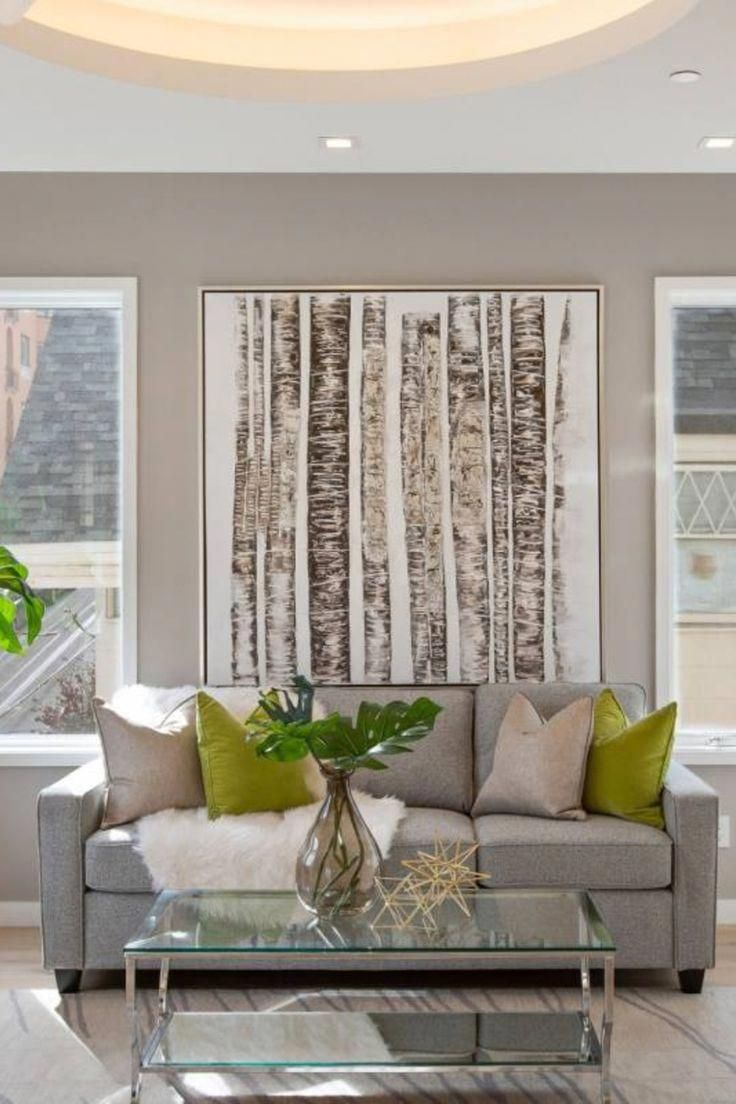 41 neutral living room furniture and decor ideas grey couch rh pinterest com