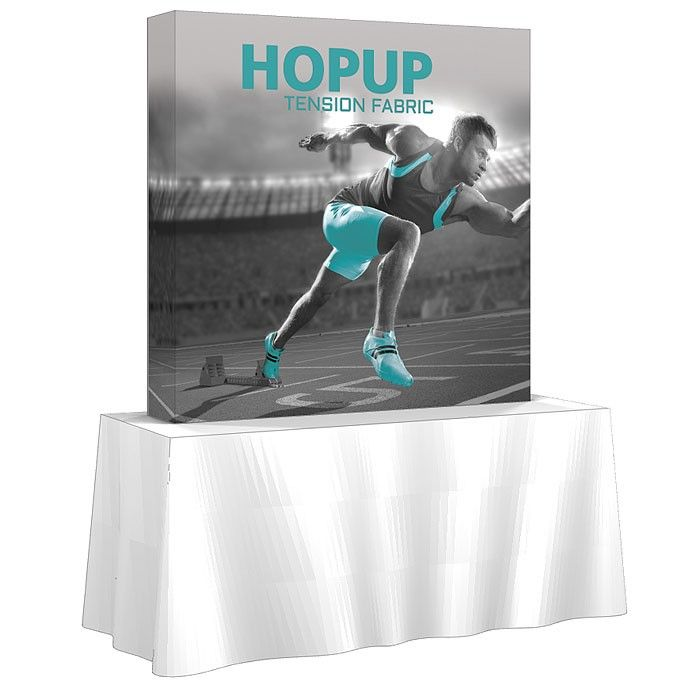 6Ft. HopUp Trade Show Display With Graphic End Caps