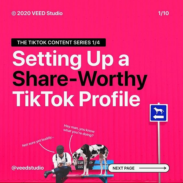 How To Set Up Your Tiktok Profile Video Editing Music For You Video Content