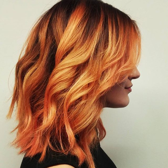 25+ best ideas about Orange highlights on Pinterest ...
