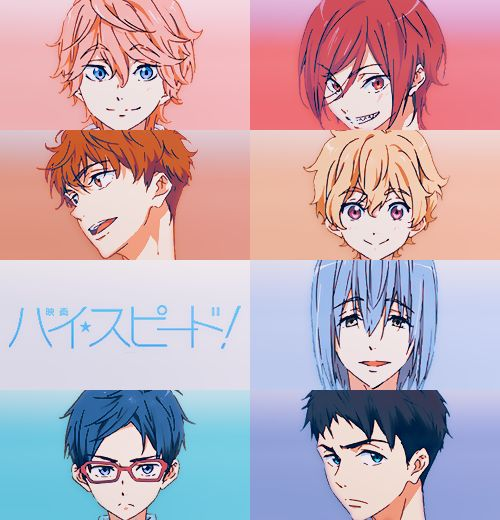 Anime Characters Starting With X : Best images about free iwatobi swim club on pinterest