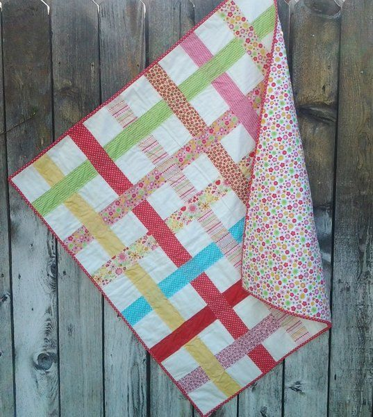 Easy, Quilt as you go pattern!