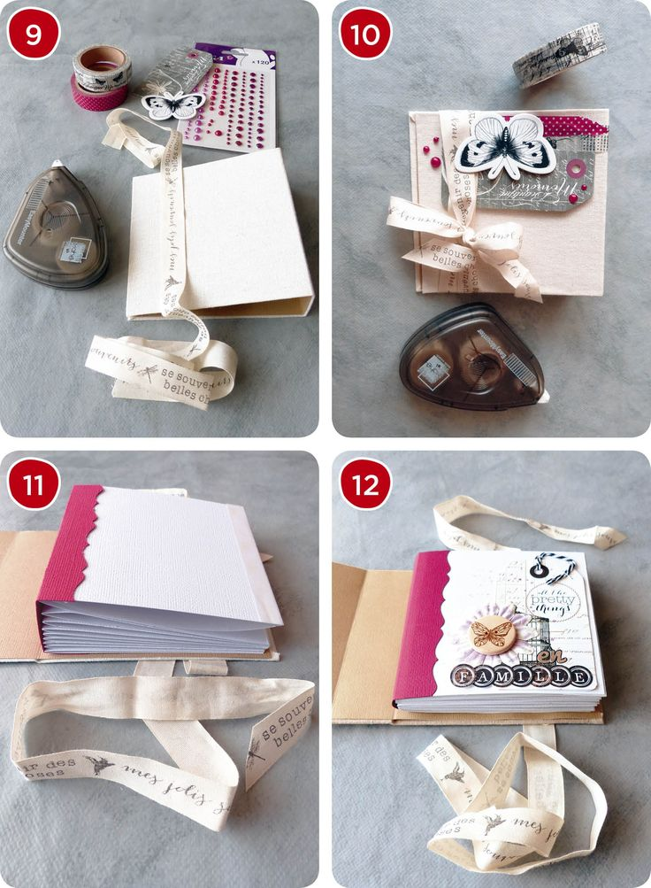 Célèbre 590 best tuto mini album images on Pinterest | Mini albums, Mini  YA15
