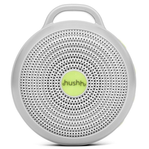 Hushh for Baby, Portable White Noise Sound Machine - $34.95>>> if my children are anything like their father then we will need this...