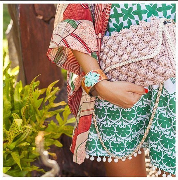 #MMissoni | SS 15 | Raffia Bag | Interpreted by Josieloves