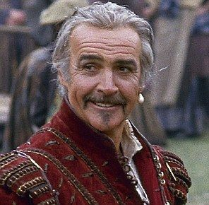 highlander sean connery--yummy at any age and he just gets better with age, dosent he