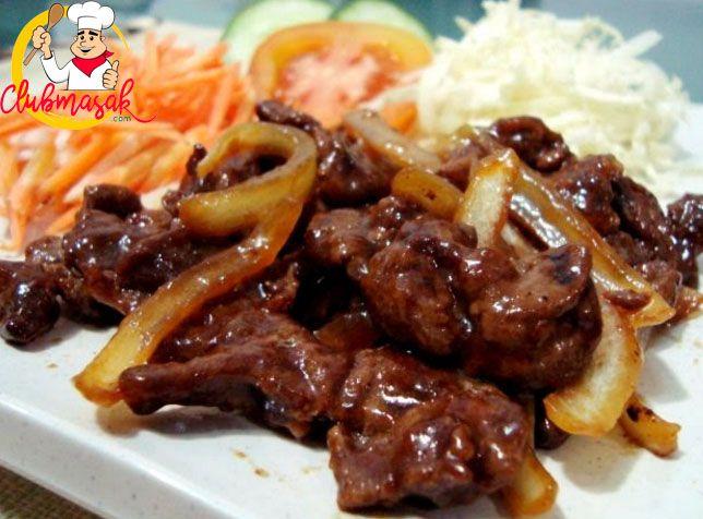 Resep Beef Teriyaki, Resep Beef Teriyaki Saori, Club Masak