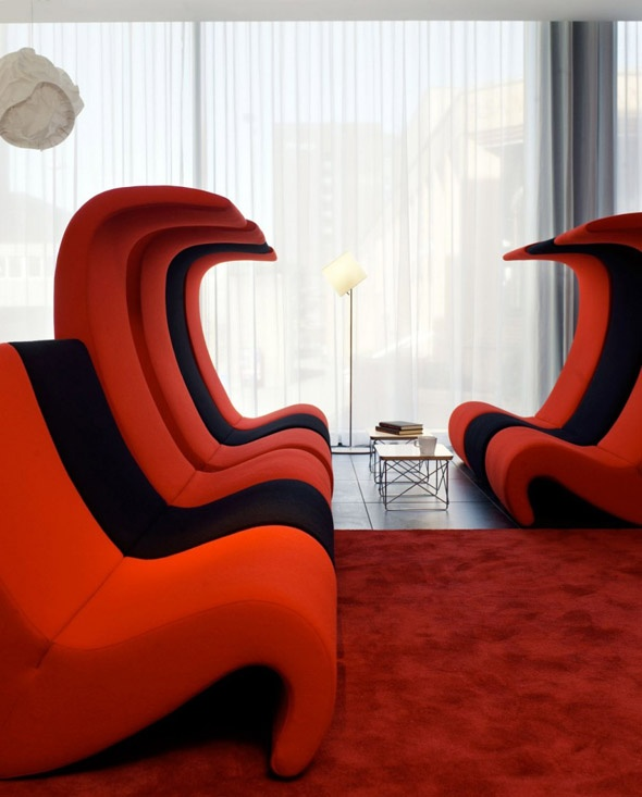 italian furniture with ultra modern design and feelused in high end hotels