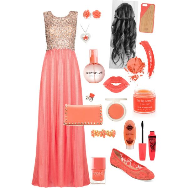 Izzy prom by kat13evers on Polyvore featuring polyvore, fashion, style, Lucky Brand, Valentino, Liz Claiborne, Bling Jewelry, Mawi, Native Union, Topshop, Rimmel, Sara Happ, H&M, Fake Bake and Nails Inc.