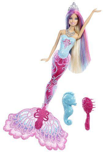 Barbie - X9178 - Poupée - Sirène Couleurs Barbie http://www.amazon.fr/dp/B009M2T7K6/ref=cm_sw_r_pi_dp_Ewuhwb1KZEVCA